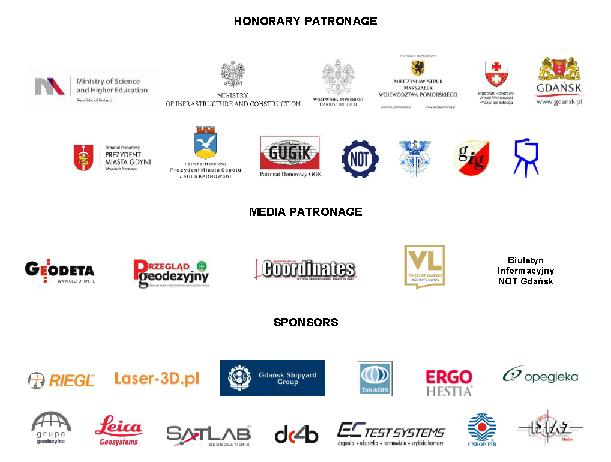 Patronage & Sponsors Baltic Geodetics Congress 2016